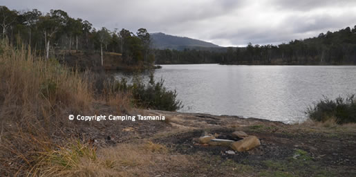 camping cluny dam