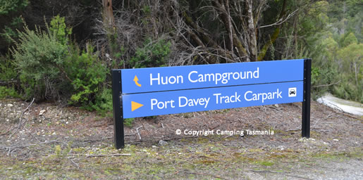 camping huon campground lake pedder