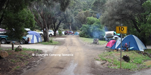camping mayfield bay coastal reserve